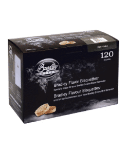 Bradley Smoker Wood Bisquettes, Oak Flavor, 120 Pack