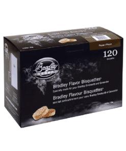 Bradley Smoker Wood Bisquettes, Pecan Flavor, 120 Pack