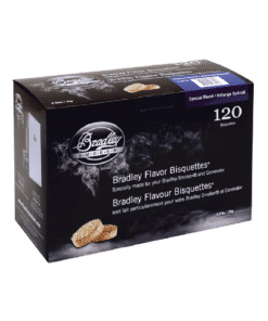 Bradley Smoker Wood Bisquettes, Special Blend Flavor, 120 Pack
