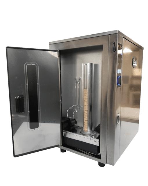 "Bradley Smoker Professional P10, 5 Rack, 1000W Electric Smoker, 76L, 31"", Stainless steel"