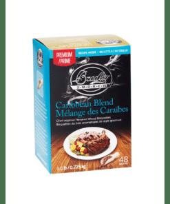 Bradley Smoker Wood Bisquettes, Premium Caribbean Blend Flavor, 48 Pack