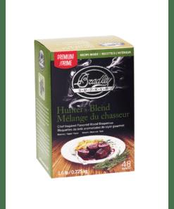 Bradley Smoker Wood Bisquettes, Premium Hunter's Blend Flavor, 48 Pack