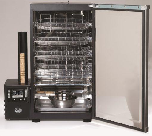 "Bradley Smoker Digital 4 Rack Electric Smoker, 31"", Silver"