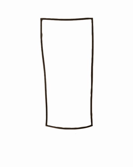 Bradley Smoker Replacement Magnetic Door Seal, BS815XLT
